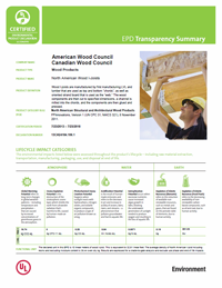cover image link to the wood i-joist transparency brief pdf